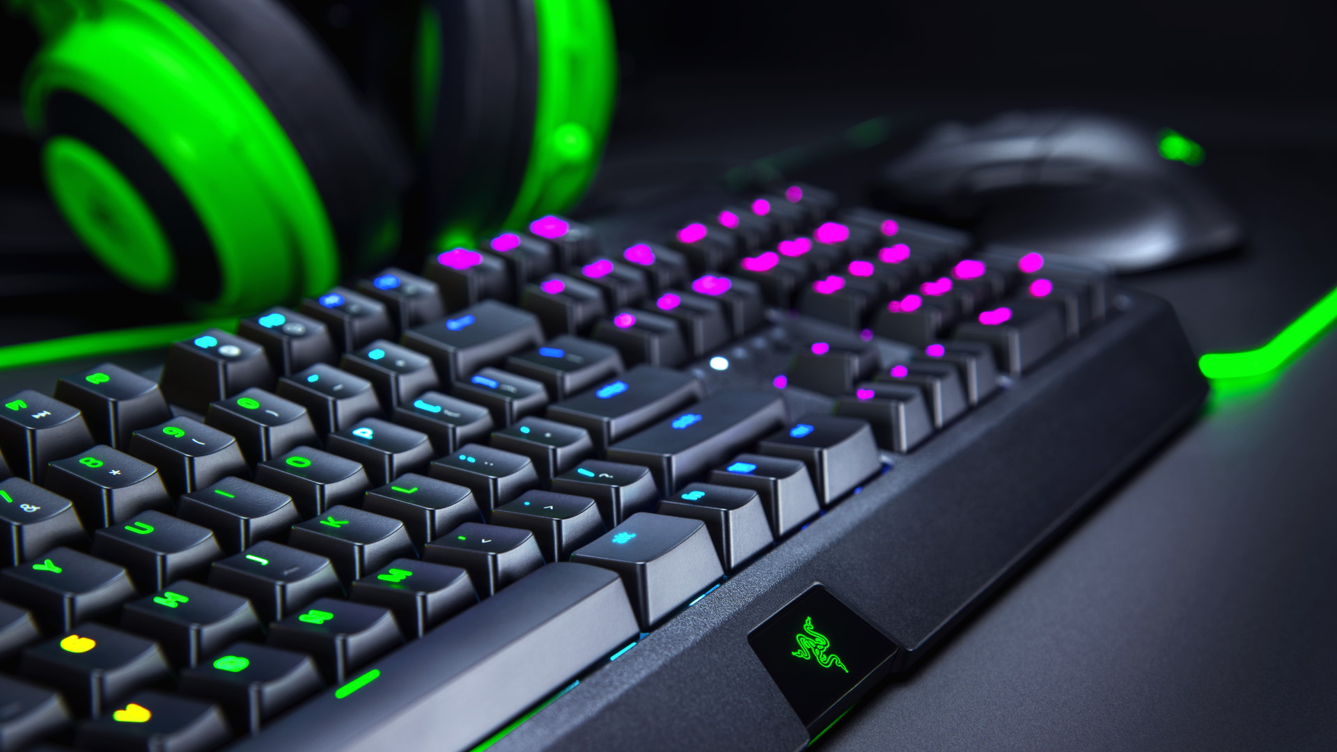 A photo of Razer PC peripherals