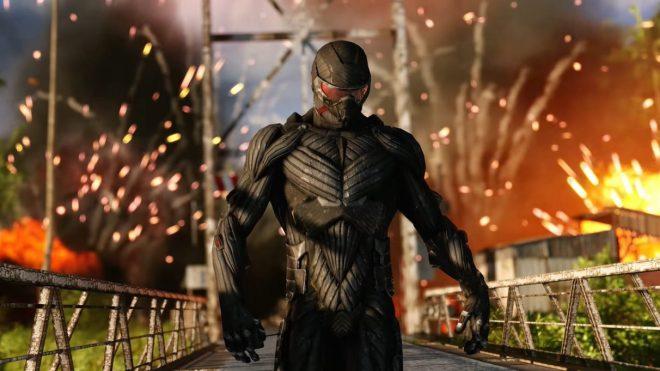 "Crysis-Remastered-1212x682 Crysis Remastered's 8K tech trailer shows off ""Can It Run Crysis?"" mode | Rock Paper Shotgun"