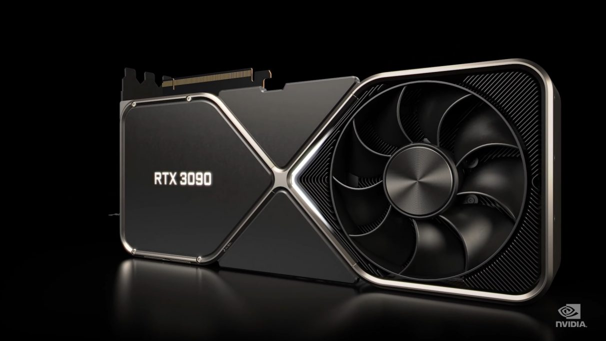 An image of the RTX 3090.