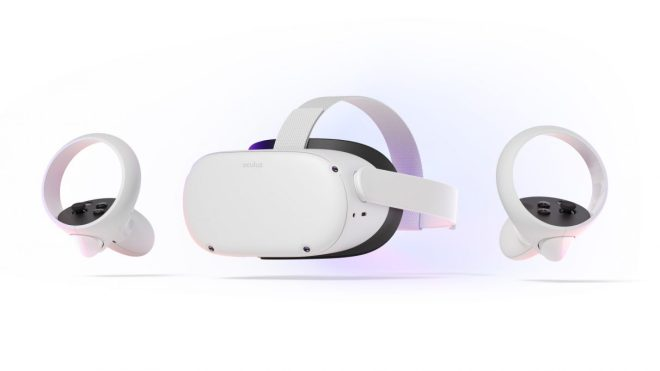 Oculus-Quest-2-with-Touch-controllers-1212x682 Oculus Quest 2 will start at £299 when it launches in October, replacing the Rift S | Rock Paper Shotgun