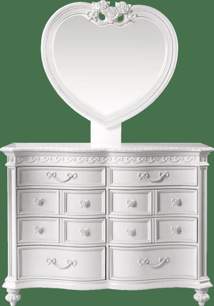 dresser mirrors sets