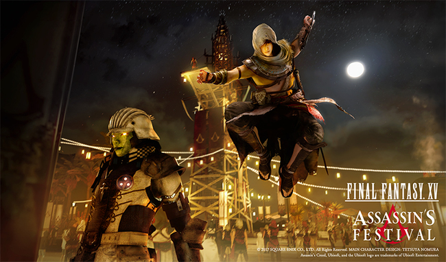 Final Fantasy XV - Assassin's Creed