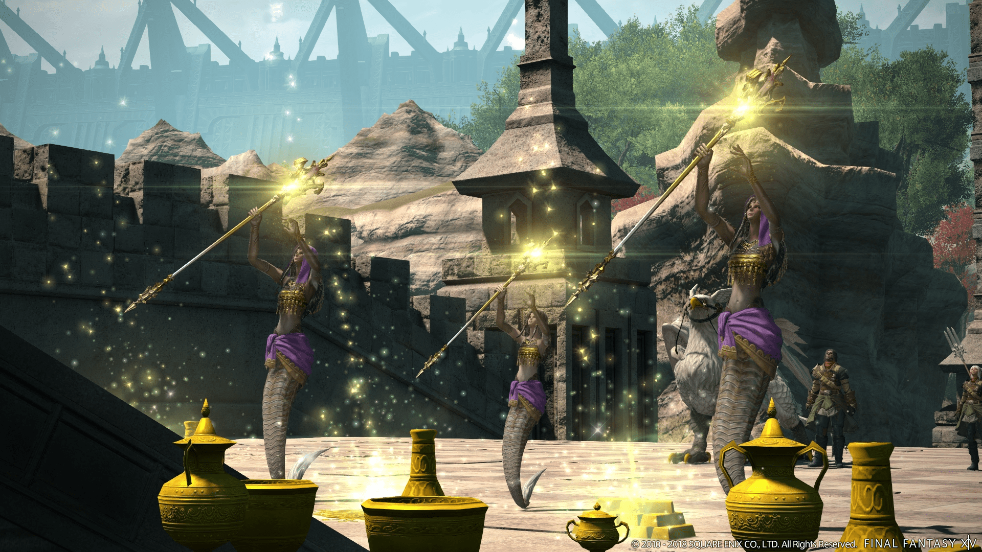 Final Fantasy XIV Details Patch 42 Rise Of A New Sun