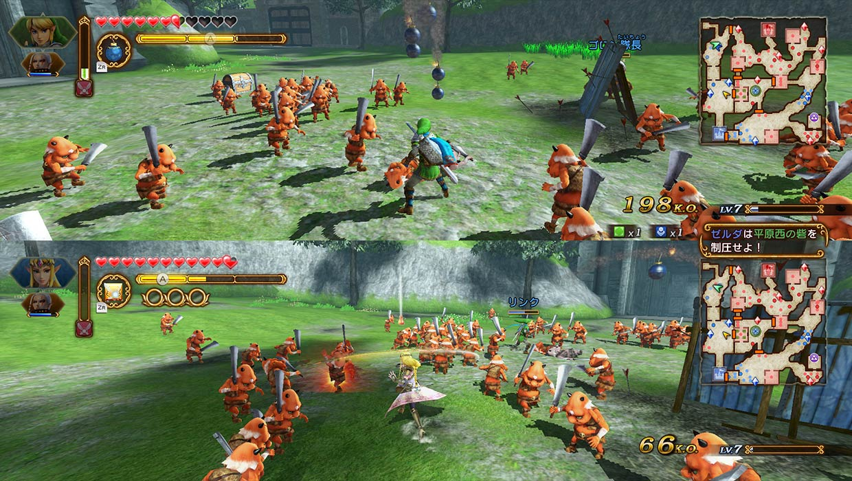 First Trailer For Hyrule Warriors Definitive Edition