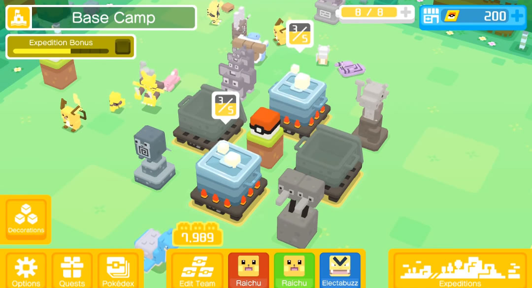 pokemon quest how to get more pots cooking