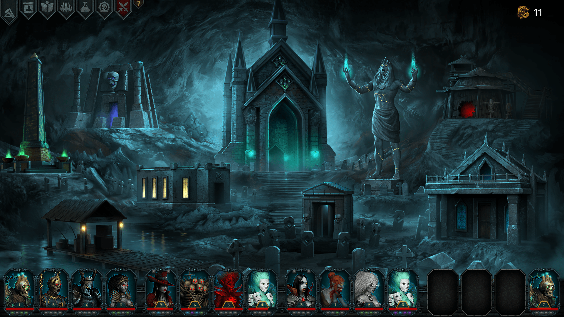 Iratus Lord Of The Dead Is A Turn Based Roguelike Rpg