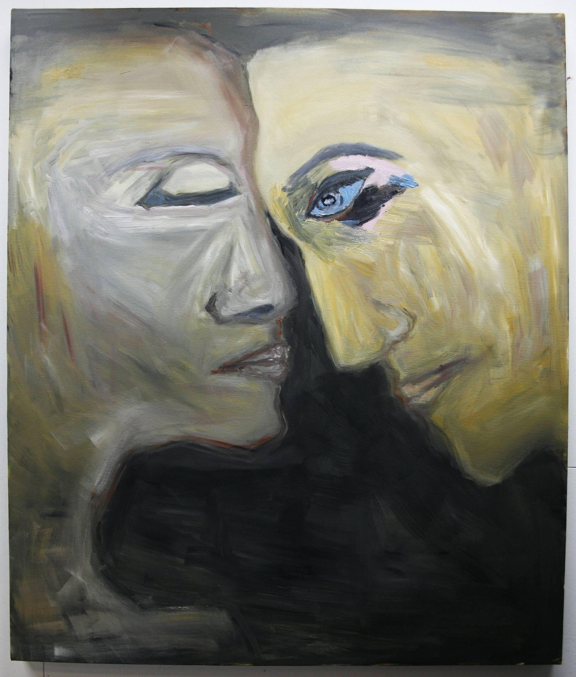 Risultati immagini per pain together saatchi art