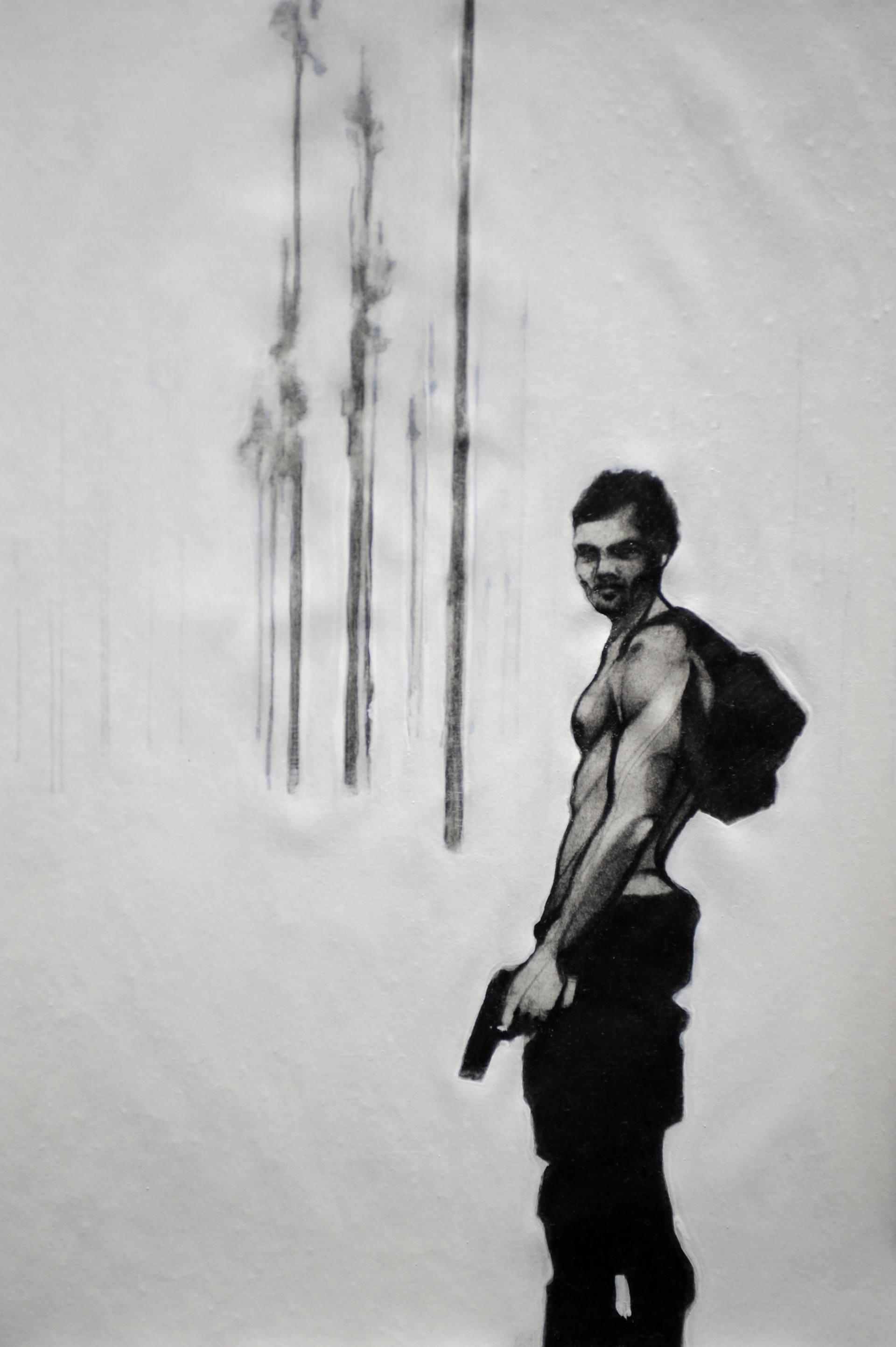 Risultati immagini per A guy with a gun 1 enrico salvadori