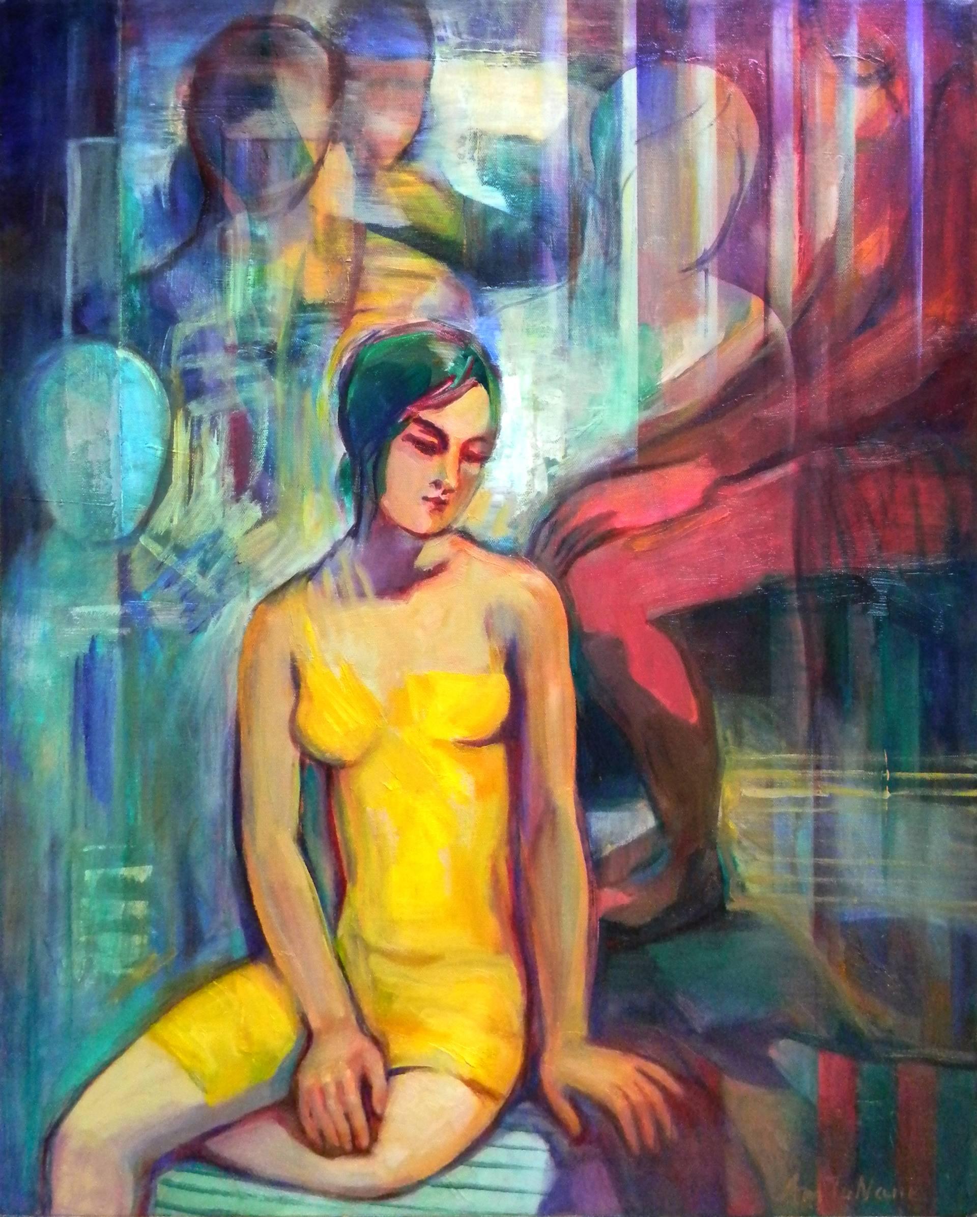 Risultati immagini per Silence Painting, 30 H x 24 W x 1 in Amalya Nane Tumanian