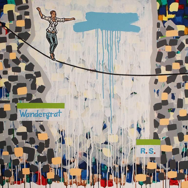 Risultati immagini per Wandergrat Painting, 39.4 H x 39.4 W x 1.2 in Ralf Schmidt