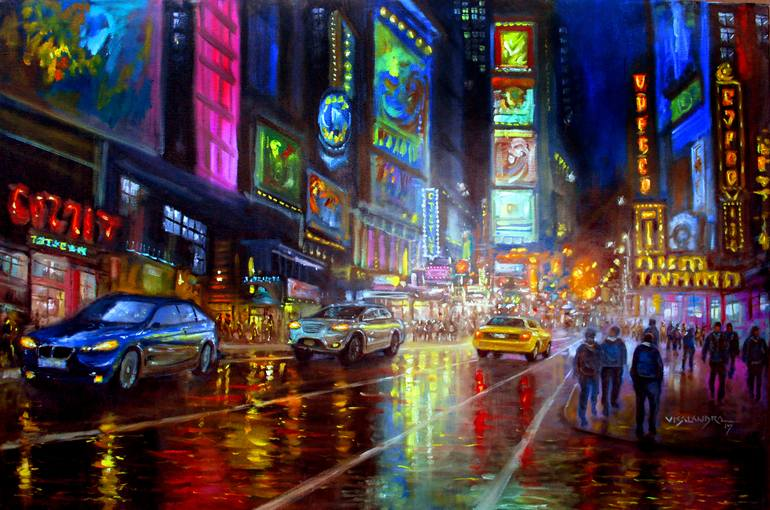 City Lights Art