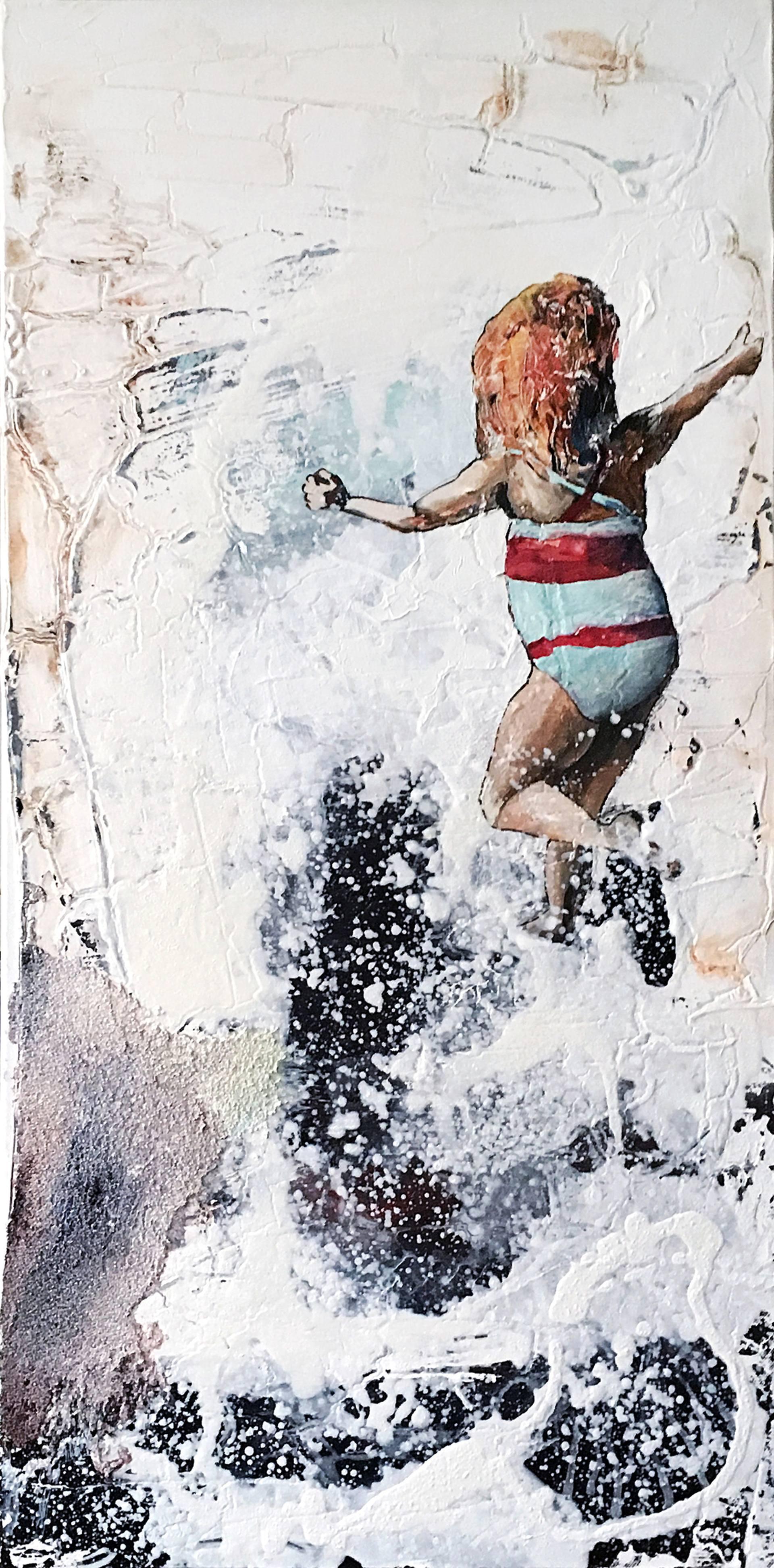 Risultati immagini per Stadtstrand 99 Painting, 31.5 H x 15.7 W x 1.6 in Tobias Hartmann