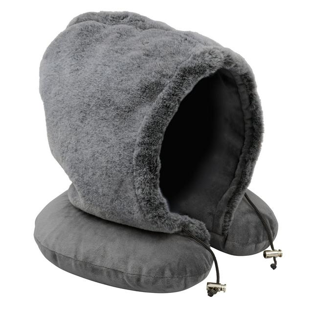 wellbeing hooded travel pillow