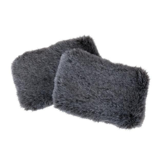 wellbeing faux fur hand warmers