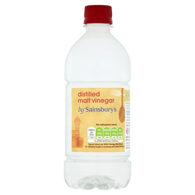 Sainsbury S Distilled Vinegar 568ml Sainsbury S
