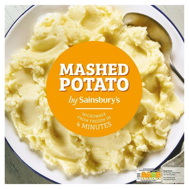 sainsbury s frozen potato mash 1 4kg