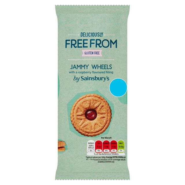 Image result for gluten free jammy wheels