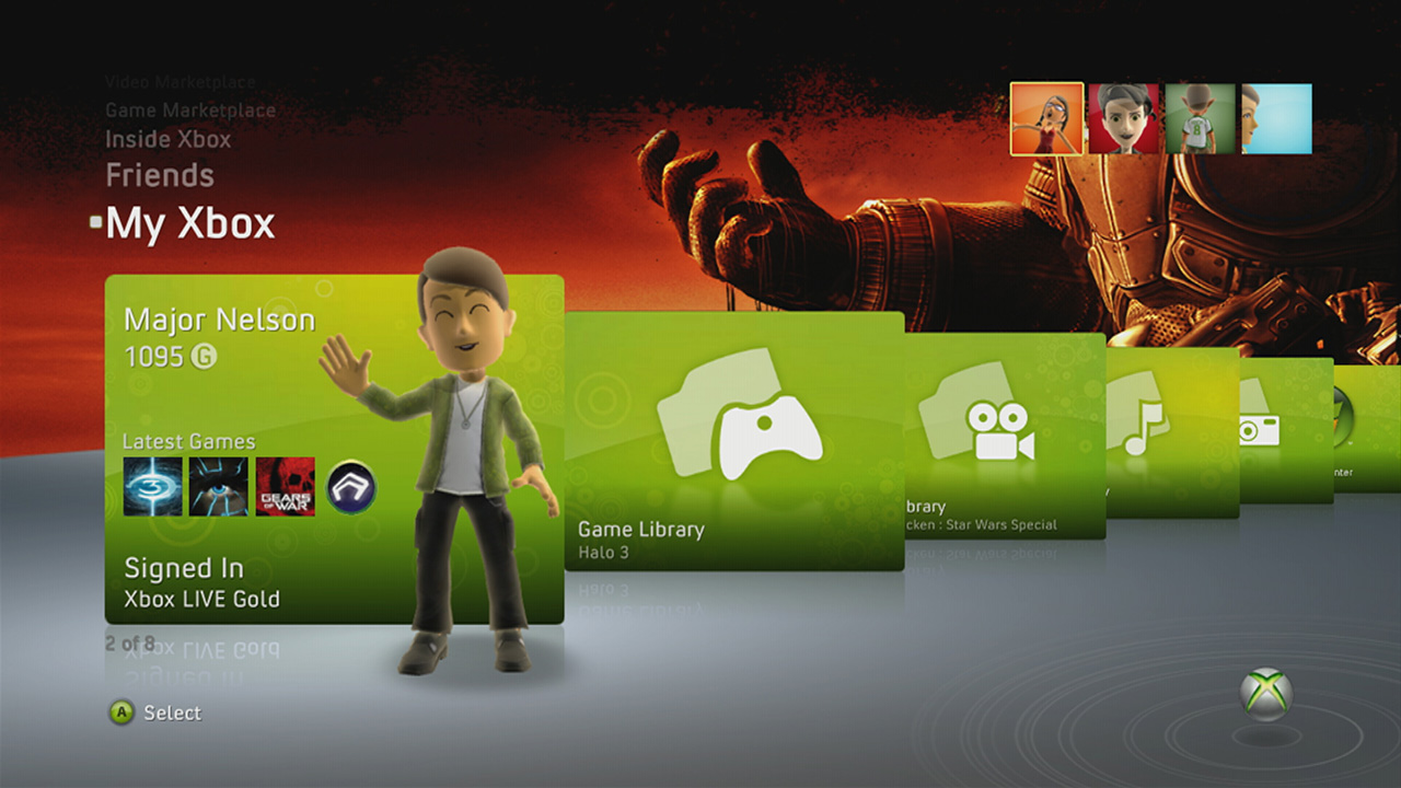 Xbox One User Interface With Instant Switching Detailed