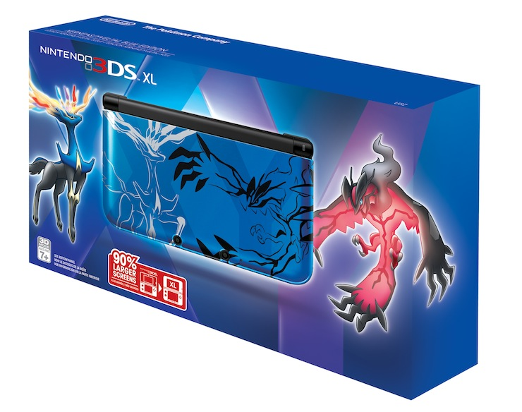 Pokemon X And Y 3DS XLs Coming To North America And Europe