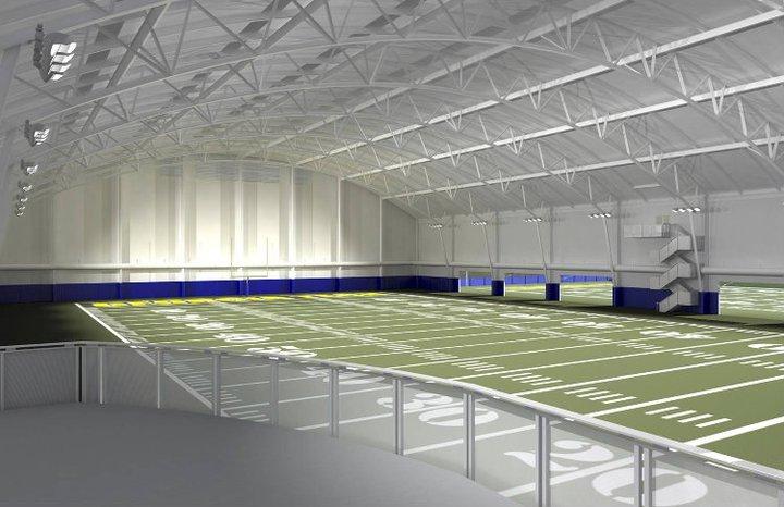 PHOTOS Georgia Techs Indoor Football Practice Facility