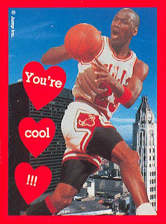 Michael Jordan Would Like To Wish You A Happy Valentines