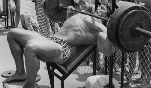 How to bench press your own weight