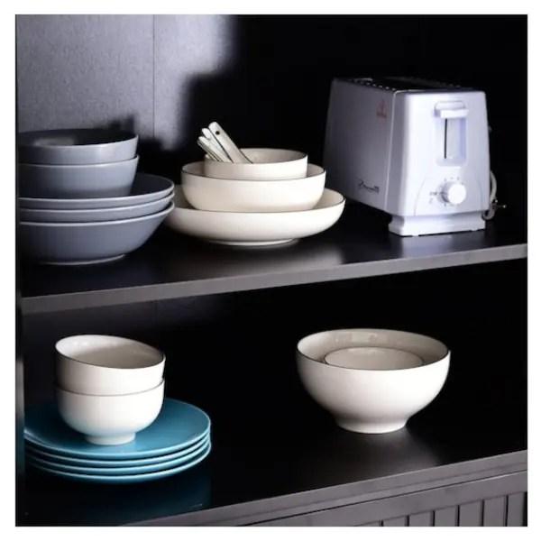 Homcom Traditional Freestanding Kitchen Pantry Cabinet Cupboard Black Loblaws