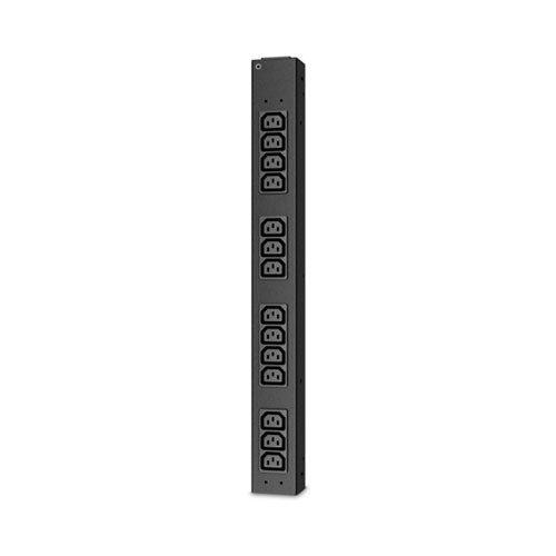 apc rack pdu basic half height 14 c13 outlets 220 240v