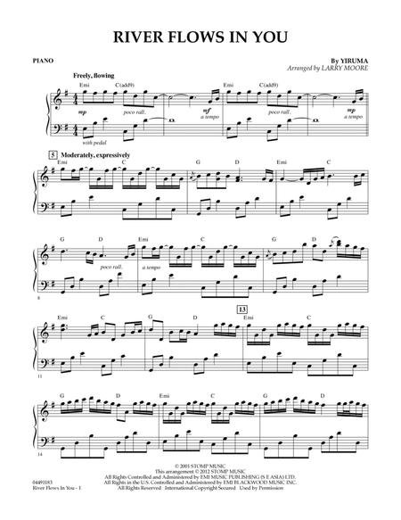 Yiruma First Love Sheet Music