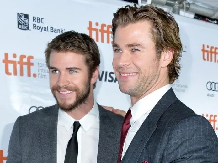 Chris and Liam Hemsworth together in a new film(AFP)