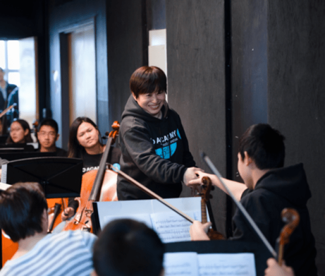 Orchestra Members Were Eager To Work With Their Future Leader Clarinetist Andrew Lamy Said Were Very Excited She Is Cheerful And Lyrical Creative And