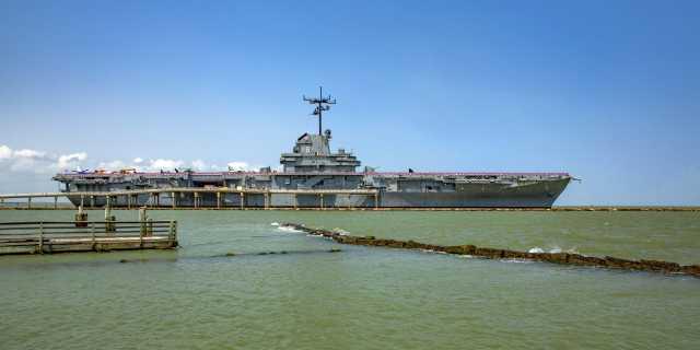 USS Lexington in Corpus Christi