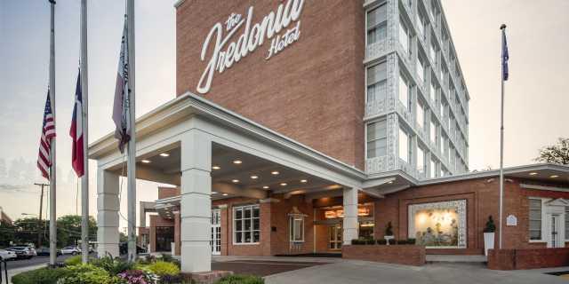 The Fredonia Hotel Entrance
