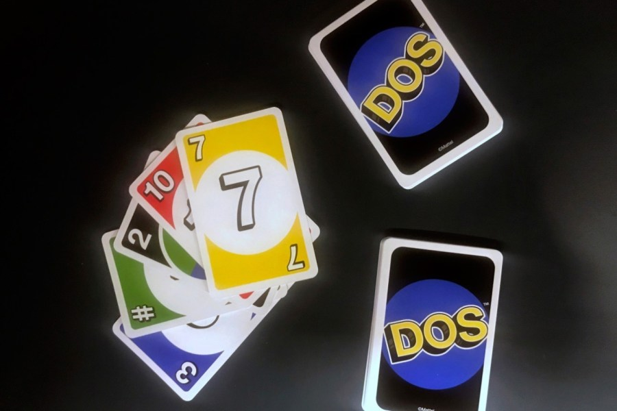 Card game UNO is getting a spinoff  DOS   here s how to play it   Smooth The cards go from 1 to 10  two cards are wild for any colour  and there are  wild cards that are a specific colour but can be used for any number
