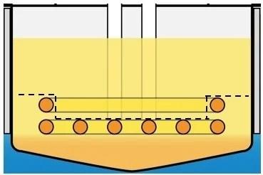凹部を有する落下防止構造