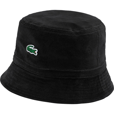 Supreme®/LACOSTE Velour Crusher (Black)