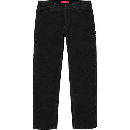 Corduroy Painter Pant (Black)