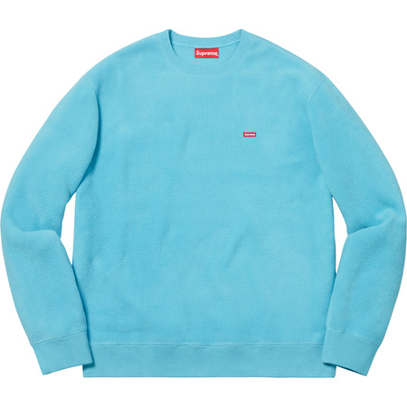 Polartec® Small Box Crewneck (Light Blue)