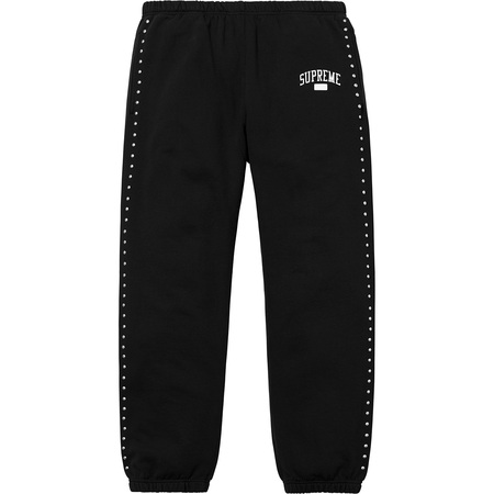 Studded Sweatpant (Black)