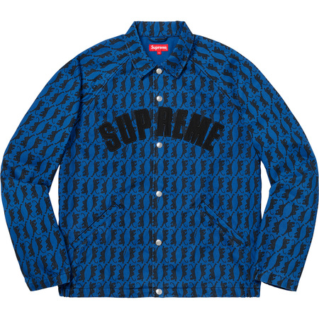 Snap Front Twill Jacket (Panther)