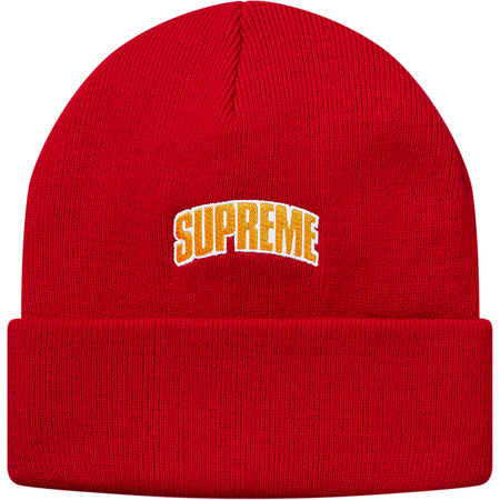 Crown Logo Beanie (Red)