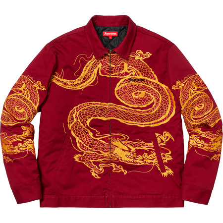 Dragon Work Jacket (Red)