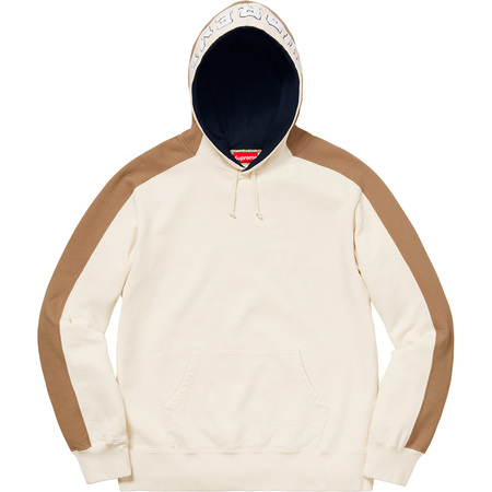 Paneled Hooded Sweatshirt (Natural)
