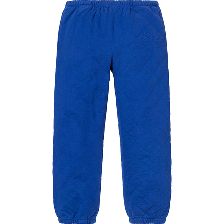 Quilted Sweatpant (Royal)