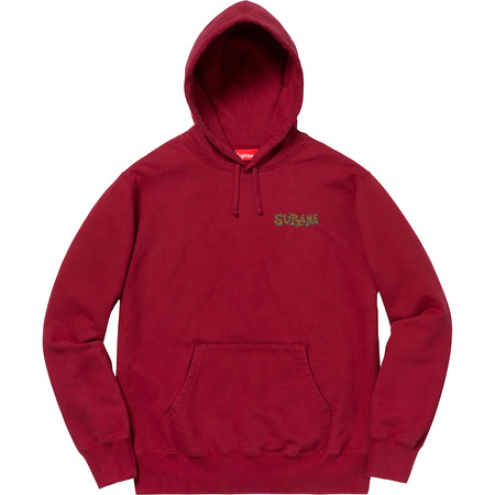 Portrait Hooded Sweatshirt (Cardinal)