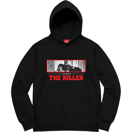 The Killer Hooded Sweatshirt (Black)
