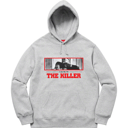The Killer Hooded Sweatshirt (Heather Grey)