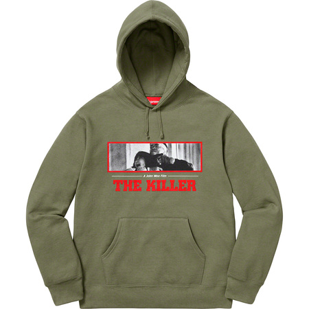 The Killer Hooded Sweatshirt (Light Olive)