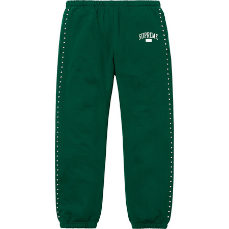 Studded Sweatpant (Dark Green)
