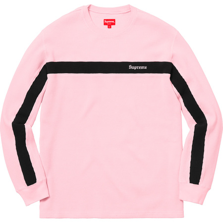 Panel Stripe Waffle Thermal (Pink)